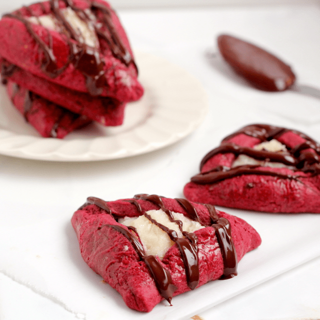 Red Velvet Hamantaschen