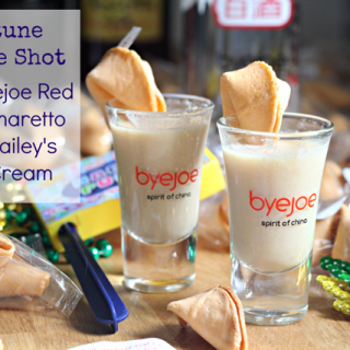 Purim Cocktails with byejoe: Fortune Cookie Shots!
