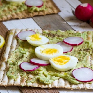 Avocado Matzah Toast