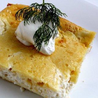 Cheese Blintzes Casserole