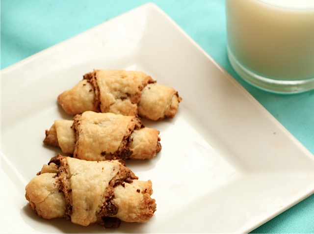 Chocolate Peanut Butter Rugelach 4
