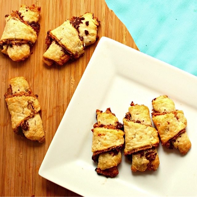 Chocolate Peanut Butter Rugelach 6
