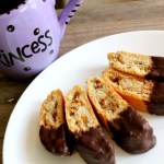 Dark Chocolate Mandel Bread