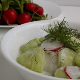 German Cucumber Salad