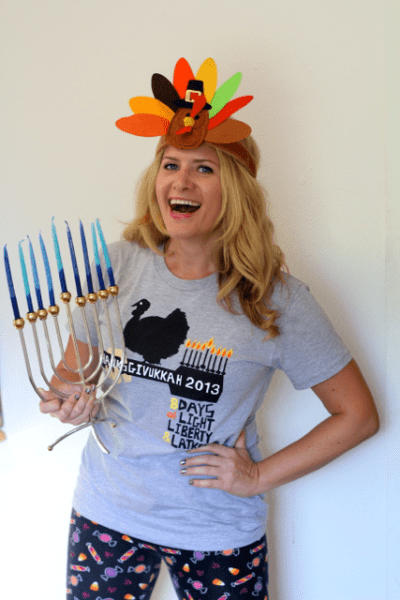 Thanksgivukkah T-shirt