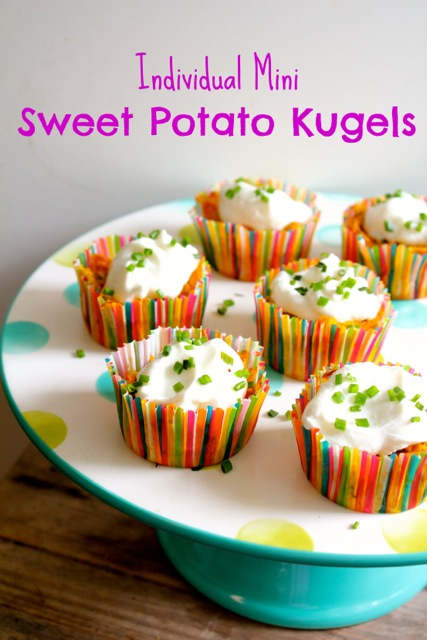 Individual Sweet Potato Kugels