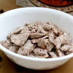 Matzah Puppy Chow with Almond Butter