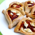 Savory Caramelized Onion Hamantaschen