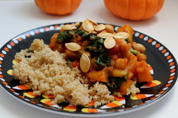 Pumpkin and Kale Stew 7