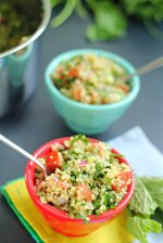 Quinoa Tabbouleh Salad and Gluten-Free Recipes For People with Diabetes Cookbook Review