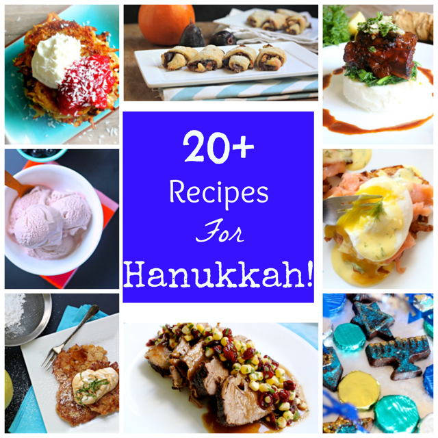 Recipes for Hanukkah