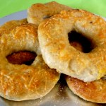 Asiago Cheese and Truffle Salt Bagels