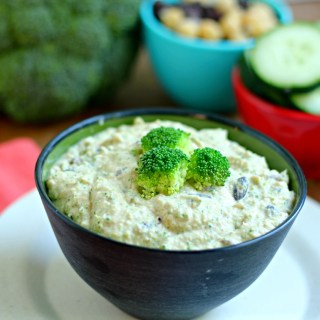 Broccoli Black Bean Hummus and The ADA Vegetarian Cookbook Review