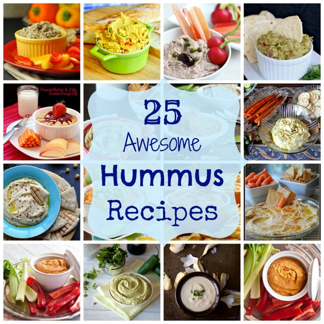 25 awesome hummus recipes