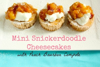 Snickerdoodle Cheesecakes