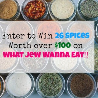 Giveaway: Win 26 Essential Spices worth $100 from Cooking Planit!