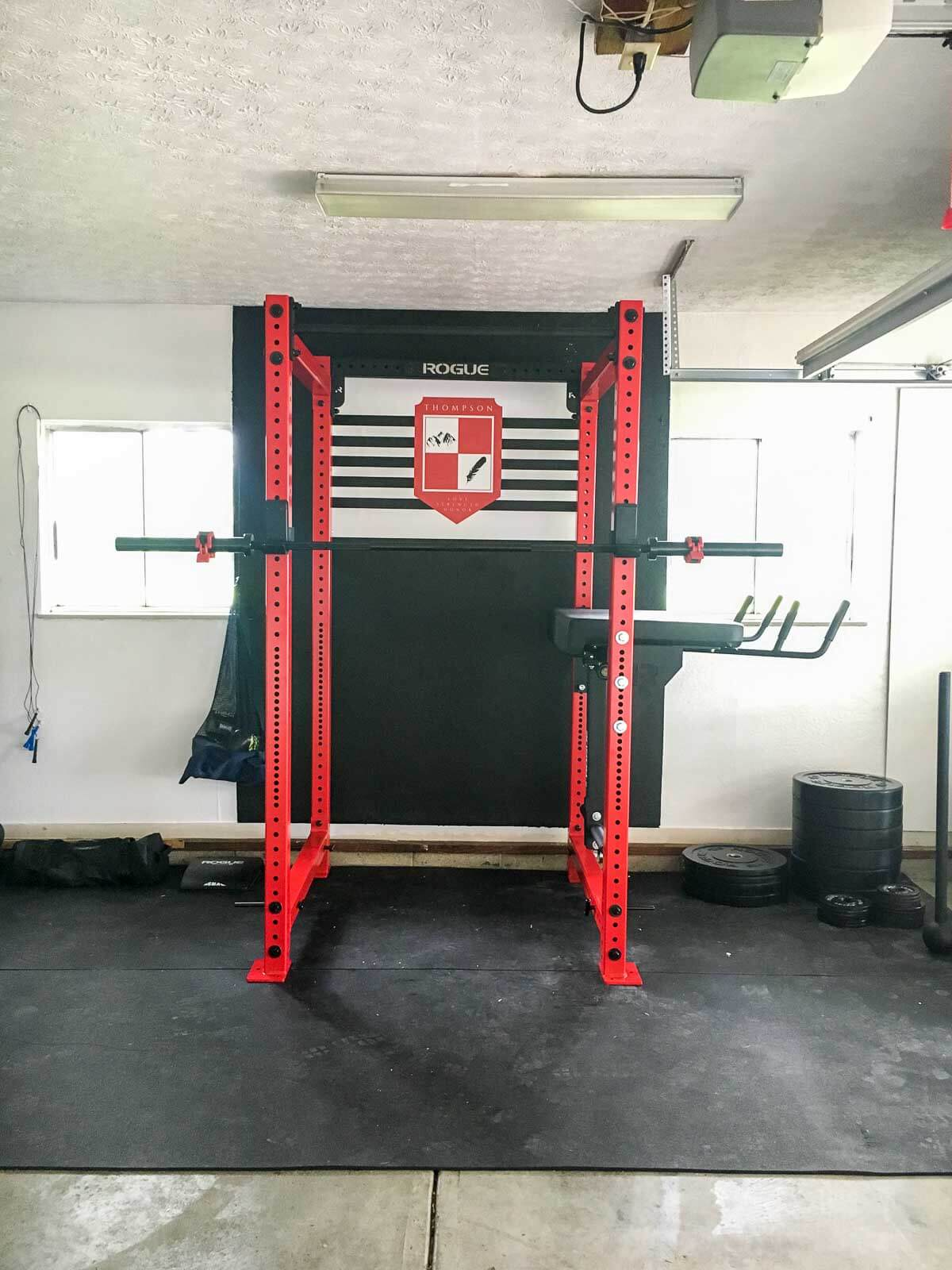 Garage Gym Humidity Home Gym Reveal What Molly Made
