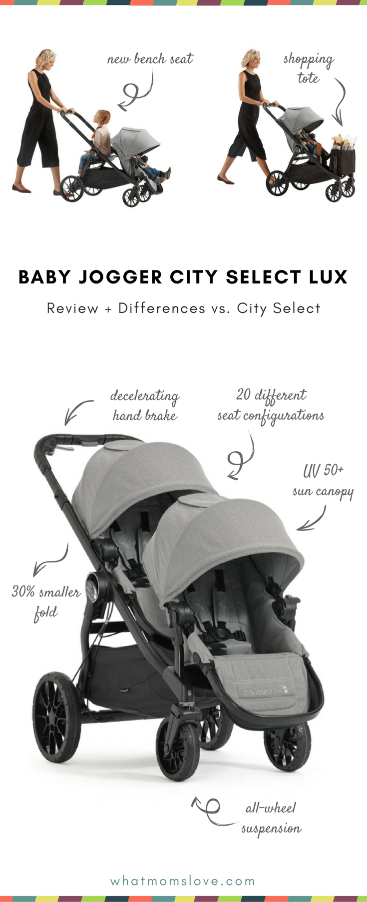 Car Seat Stroller Travel System Reviews Baby Jogger City Select Lux Review Differences Between