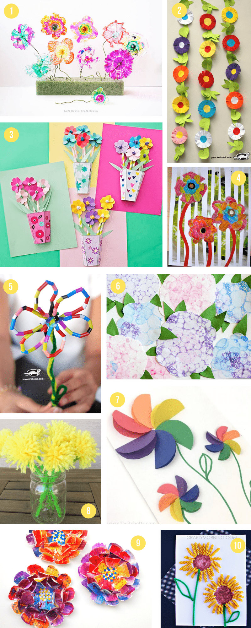Art Decorating And Crafting The Epic Collection Of Spring Crafts For Kids All The Best Art