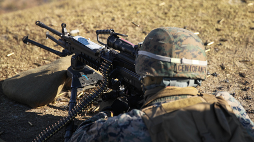 Marine Corps Weapon Systems M249