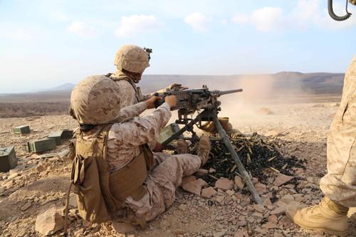Marine Corps Weapon Systems M2 50 Caliber Machine Gun