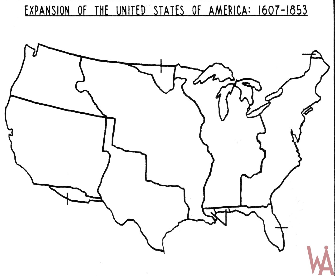 Large Hd Wallpapers For Laptop Blank Outline Map Of The Usa Expansion 1607 1853