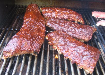 Blackberry Barbecued Ribs Recipe Whats Cooking America
