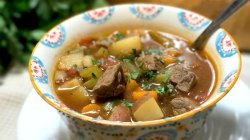 Small Of Vegetable Beef Stew