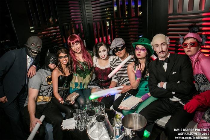 Haunted W SF Halloween