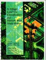 Horizon West Land Use Classification and Study Report