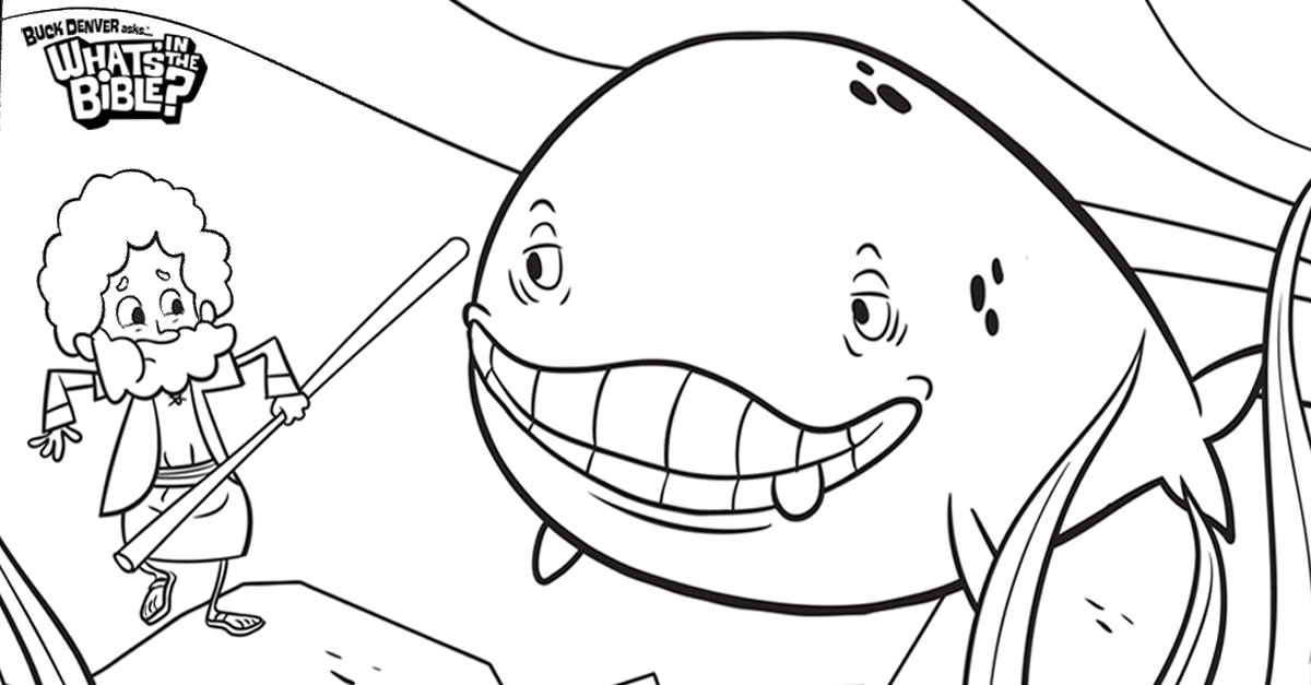 Jonah And The Whale Bible Coloring Pages What39s In The