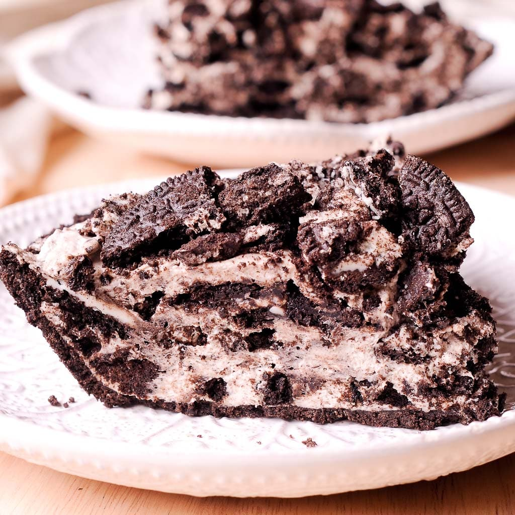 No Bake Oreo Kuchen Oreo Cheesecake Cream Pie
