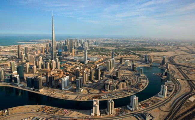 Pictures Of Dubai From The Air Downtown Burj Khalifa What S On