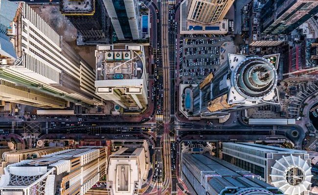 Drone Photographer Captures Amazing Photo Of Dubai From Above