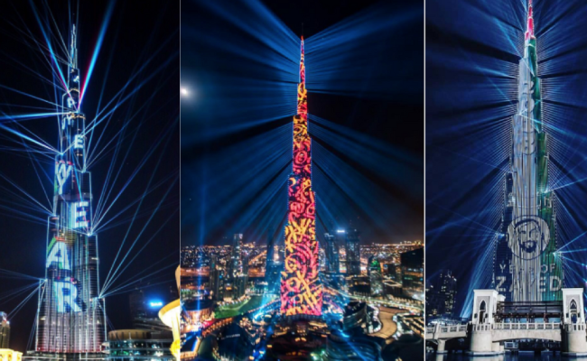 Burj Khalifa Nye Light Show To Be Repeated Until January 6