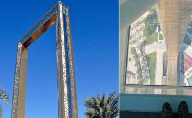 You Can Now Book Tickets To Visit Dubai Frame Online What S On Dubai