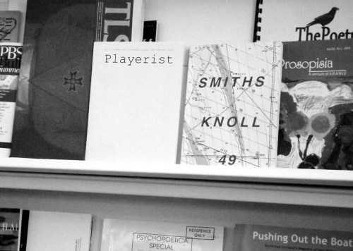 An independent publication on catalogue at the Poetry Library, South Bank Centre.
