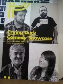 Crying Duck Comedy Showcase
