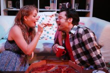 Simon Bailey and Laura Pitt-Pulford in MARRY ME A LITTLE at St James Studio. PHOTO CREDIT Roy Tan (4)
