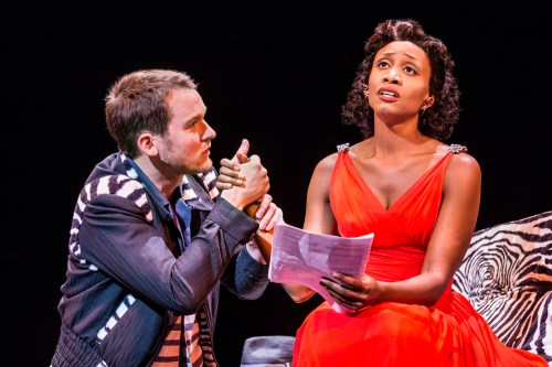 Killian Donnelly and Beverley Knight as Huey and Felicia