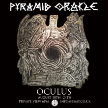 'OCULUS' by Pyramid Oracle. An urban art exhibition in Dalston.