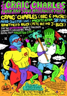 Craig Charles Funky Halloween Party