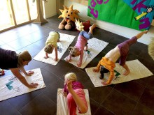 Kids@Taj Jungle Book Yoga Experience