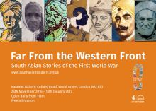 Far From the Western Front: South Asian Stories of the First World War