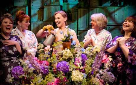 Claire Machin, Sophie-Louise Dann, Joanna Riding, Claire Moore and Debbie Chazen in The Girls
