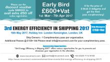 3rd Energy Efficiency in Shipping Conference 2017