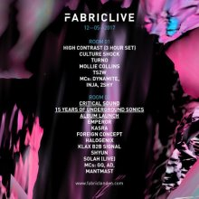 FABRICLIVE: High Contrast & Critical Sound Album Launch