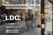 Female Power Pop Up // Shop Fashion + Lifestyle // Presented by LDC