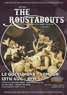 The Roustabouts at Le QuecumBar