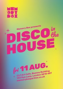 """Memory Box """"Disco In The House"""""""